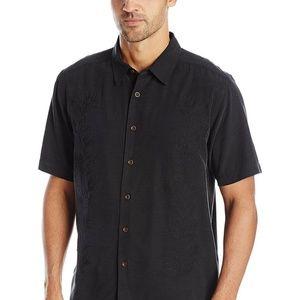 Quiksilver Men's Waterman Fiesta Black Shirt Sz XL